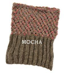 knit snood scarf