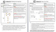 SOCCER DRILLS AND LESSON PLAN - TeachersPayTeachers.com