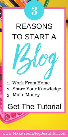 """Ready to start a blog?  Say """"yes!"""" if you want more freedom in your life, and a great way to create a new income for yourself and your family.  Starting a blog is one of the best decisions I ever made!  You can have your blog up and running in just a matt"""