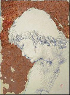 """""""Gypsy"""" drawing by Syd Tunn ©"""