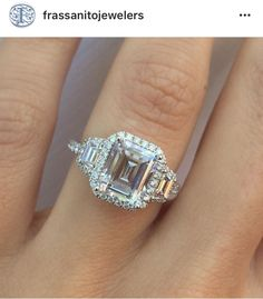 We are swooning over this gorgeous picture taken from Frassanito Jewelers of our…