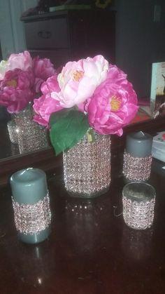 My Design, Glass Vase, Home Decor, Homemade Home Decor, Interior Design, Home Interiors, Decoration Home, Home Decoration, Home Improvement