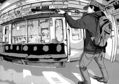 """""""I am a Hero"""" the Zombie Apocalypse in japan taking months to update http://mangapark.me/manga/i-am-a-hero"""