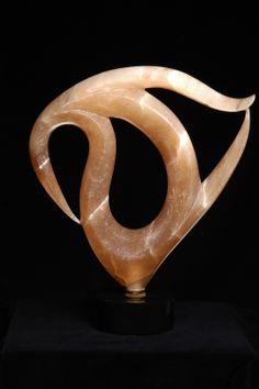 Utah Alabaster Hand-tooled Stone Sculpture