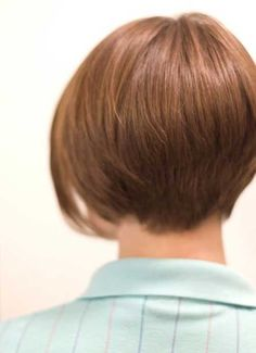 Back View of Short Bob Haircuts | Bob Hairstyles 2015 - Short Hairstyles for Women