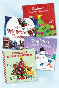 Please browse our award-winning selection of personalized children's books & gifts that will show your child how special they are! Babies First Christmas, 1st Christmas, Christmas Holidays, Christmas Crafts, Christmas Decorations, Personalized Kids Books, Christmas Activities, Christmas Traditions, Childrens Christmas Books