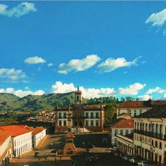 Tiradentes square - Minas Gerais, Brazil