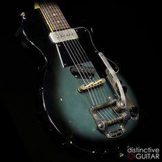 Pelham Blue Fano SP6 available at distinctiveguitar.com.