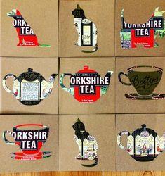 #tea #british #cuppa #haveabreak #teapot #cup #cupandsaucer #greetingscards #handmade #upcycling #timefortea Teapot, Cup And Saucer, Brewing, British, Cards, Handmade, Repurpose, Tea Pot, Playing Cards