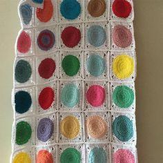 #코바늘#손뜨개#레트로써클 패턴#무릎담요#crochet#handmade#retrocirclesblanket #onedayclass#knitting #knittinglove #