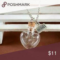 Dandelion heart wish necklace Dandelion heart wish necklace mine Jewelry Necklaces