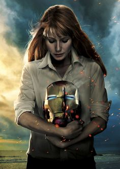 """Virginia """"Pepper"""" Potts is the Chief Executive Officer of Stark Industries. Originally working as Tony Stark's personal assistant, she would take care of his schedule and perform any task he wished. During this time, she became good friends with Stark; however, both she and Stark had begun developing romantic feelings for each other. Neither was able to act on these feelings, as they each feared that they other would not accept them. When Stark returned from captivity in Afghani..."""