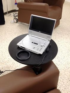 Personal DVD players at Liverpool Hospital funded by Dry July