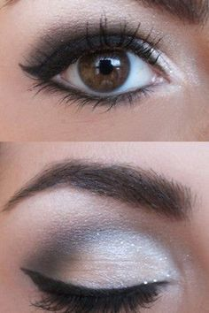 Would love this with a dark brown instead of black. Her lashes are great though!