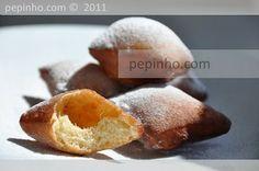 i-Recetas: Buñuelos de vainilla y/o naranja