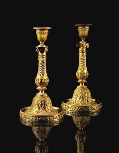 Home Collection Home Furnishing Accessories Decoration Set of 2 Candlesticks to Hang on the Wall in Baroque Style H 45 cm