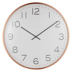 BuyHouse by John Lewis Domed Wall Clock, Copper Online at johnlewis.com