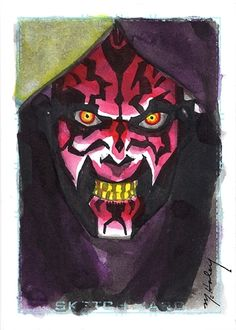 Star Wars - Darth Maul by Mark McHaley