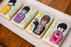 Beatles cookies - Yellow Submarine Time!