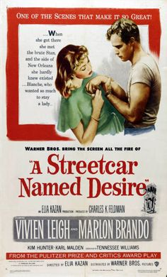 A STREET CAR NAMED DESIRE 11X17 Movie REPRO poster