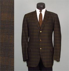 Vintage Mens Sport Coat Jacket 1960s Gold and by jauntyrooster, $75.00