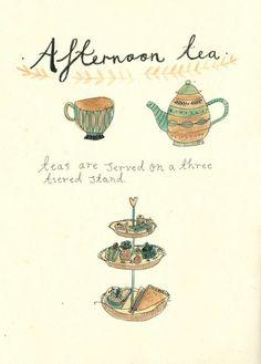 Katt Frank -- afternoon tea -- food art