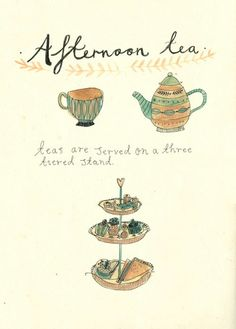 Katt Frank -- afternoon tea
