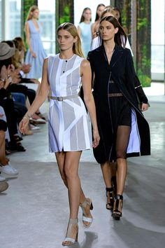 See #ss15's trend for  architectural lines and graphic silhouettes on the catwalk http://vogue.uk/JCl9C5
