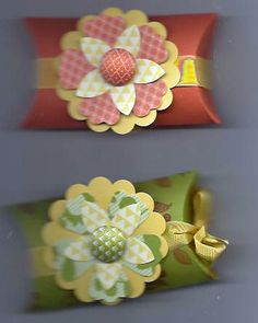 Summer Smooch Pillow-Boxes by Liz Lucero