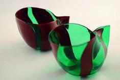 """Handmade Murano Glass Blown Sauce Boat """"KATILU"""" (€55)"""