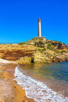 ✯ Cabo De Palos Lighthouse On La Manga In Murcia