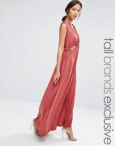 True+Decadence+Tall+Cut+Out+Detail+Maxi+Dress