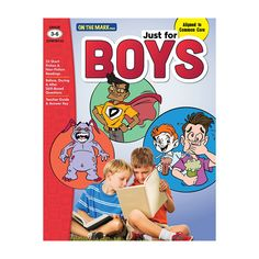 Aligned to Common Core: Motivate The Boys To Read! What young boy can resist…