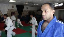 Photo #16 - July 29 - Palestine - Judo 129x222  LE PALESTINIEN ABU RMEILEH MÉRITE SES JO  Le judoka Abu Rmeileh, 28 ans, est le premier Palestinien à accéder aux Jeux Olympiques par le mé...