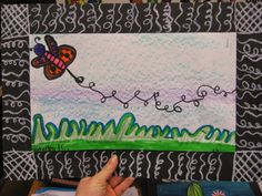 Jamestown Elementary Art Blog: 1st Grade Movement and Line Bugs