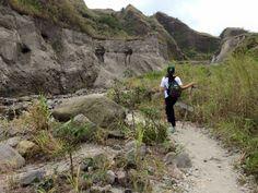 Hiking Mt. Pinatubo, Philippines