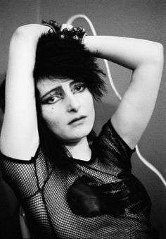 she's lost control again <3  Severin: what are you doing? Siouxsie: omg, nothing...get out Severin...