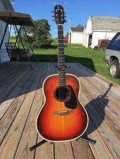 #guitar 1970s Ovation Applause AA-24 Legend depth bowl sunburst guitar USA please retweet