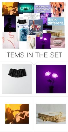 """""""Violette"""" by twd-pansy ❤ liked on Polyvore featuring art"""