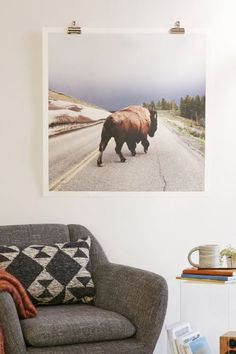 Yellowstone Bison Print Starting At 29 House Home