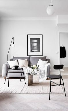 Stylish living room - via Coco Lapine Design