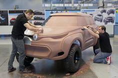 Gashetka | Transportation Design | 2014 | Renault Z30 Kwid | Clay Model | Source L....