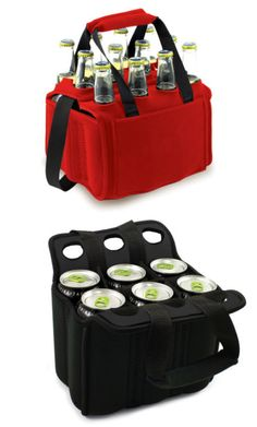 Insulated Can & Bottle Cooler - available in 6 and 12-pack