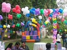 7kidsbirthdaythemepartyplanneroutdoorballoondecoration