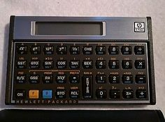 Vintage HP 11C in perfect condition! Hewlett-Packard Calculator and Case