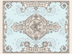 CKBoss designed by JC Desevre. Connect with them on Dribbble; the global community for designers and creative professionals. Vintage French Posters, Vintage Type, Vintage Monogram, Vintage Typography, Typography Love, Graphic Design Typography, Hand Drawn Type, Vintage Labels, Vintage Ephemera