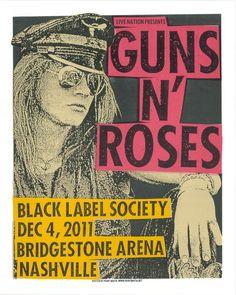 PRINT MAFIA . Guns n Roses