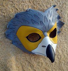 African Harrier Leather Mask by merimask on DeviantArt