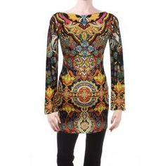 Tabeez Long Sleeve Sublime Sweater tunic