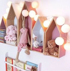 Get inspired with kids bedroom, kids' playroom ideas and photos for your home refresh or remodel. Wayfair offers thousands of design ideas for every room in every style. Baby Bedroom, Nursery Room, Girl Nursery, Girls Bedroom, Nursery Decor, Bedroom Decor, Child's Room, Nursery Design, House Shelves